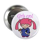 Girl Judge Button