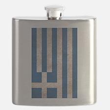 Unique Greece flag Flask