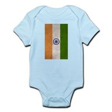 India Flag Vintage / Distressed Body Suit