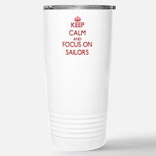 Unique Navy creed Travel Mug