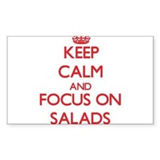 Keep Calm and focus on Salads Decal