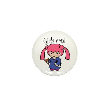Girl Judge Mini Button (10 pack)
