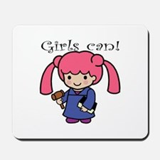 Girl Judge Mousepad