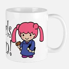 Girl Judge Mug