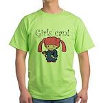 Girl Judge Green T-Shirt