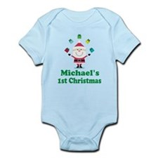 Babys 1st Christmas Personalized Body Suit