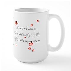 Genealogy Haiku Large Mug