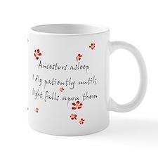 Genealogy Haiku Small Mug