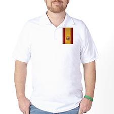 Spain Flag Vintage / Distressed T-Shirt