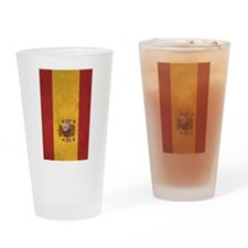 Unique Flag of spain Drinking Glass