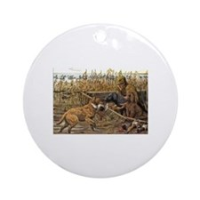 Curly-Coated Retriever Ornament (Round)