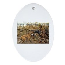 Curly-Coated Retriever Oval Ornament