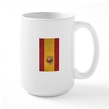 Spain Flag Vintage / Distressed Mugs