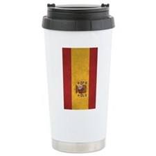 Cute Spain flag Thermos Mug