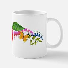 Butterflies and Anthurium Mug