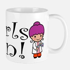 Girl Scientist Mug