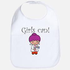 Girl Scientist Bib