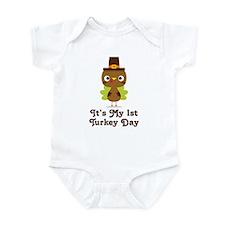 1st Turkey Day baby Body Suit