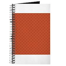 Red Ornamental Pattern Journal
