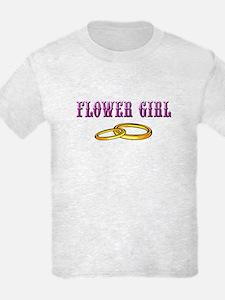 Flower Girl(rings) T-Shirt