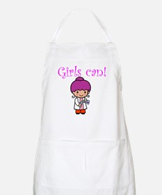 Girl Scientist BBQ Apron
