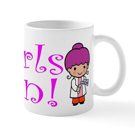 Girl Scientist Mug