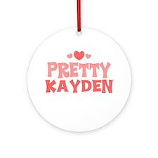 Kayden Ornament (Round)
