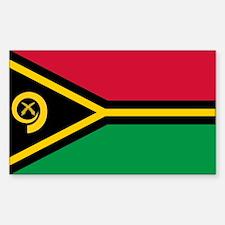 Vanuatu Rectangle Decal