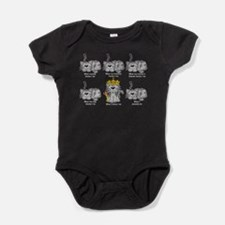 Cute American shorthair Baby Bodysuit