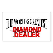 """The World's Greatest Diamond Dealer"" Decal"