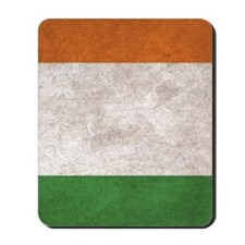 Ireland Flag Vintage / Distressed Mousepad