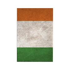 Ireland Flag Vintage / Distressed Rectangle Magnet