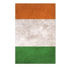 Ireland Flag Vintage / Di Postcards (Package of 8)