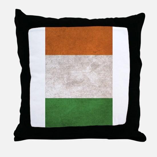Unique Irish flag Throw Pillow