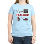 Teachers Do It With Class Women's Light T-Shirt