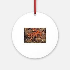 Dingo Art Ornament (Round)