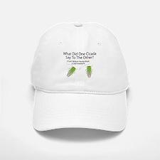 Cicada Jokes Baseball Baseball Cap