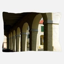 Christiansted architecture and colonna Pillow Case