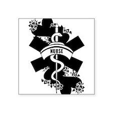 Nurse Heart Tattoo Sticker