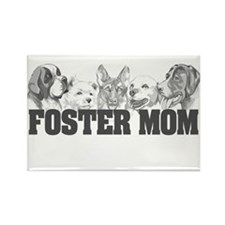 Foster Mom (dogs) Rectangle Magnet