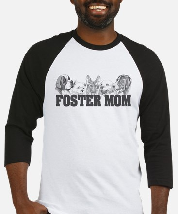 Foster Mom (dogs) Baseball Jersey