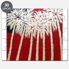 Patriotic Palm Trees Puzzle