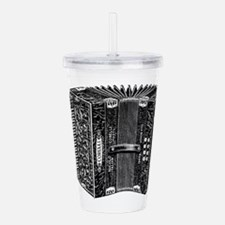 Vintage Accordion Acrylic Double-wall Tumbler