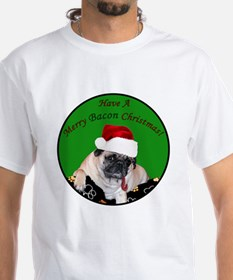Christmas Bacon Pug Shirt