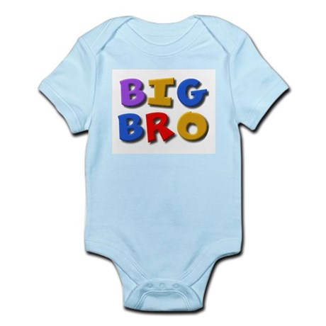'BIG BRO' for the big brother Infant Creeper