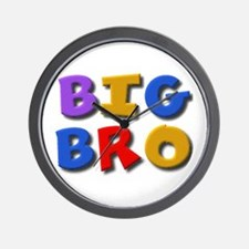'BIG BRO' for the big brother Wall Clock