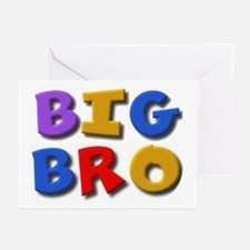 'BIG BRO' for the big brother Greeting Cards (6)