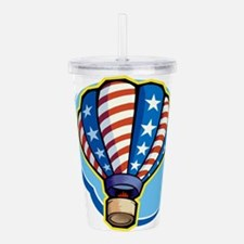 Hot Air Balloon Acrylic Double-wall Tumbler