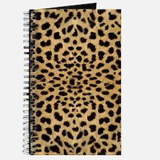 Cute Leopard print Journal
