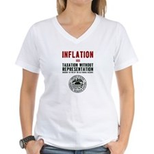 Inflation = taxation T-Shirt